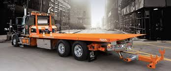 Towing Equipment - Towing Wrecker Carrier Truck - Reka