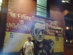 Joe Strummer Mural London Address by Joe Strummer Graffiti Death Or Glory Youtube