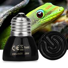 e27 pet heating l 25w 50w 220 240v black infrared ceramic
