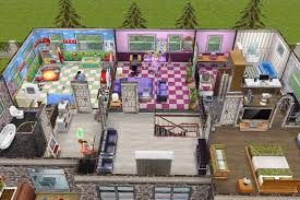 Sims Freeplay Second Floor Stairs by House 3 2nd Building 2nd Floor Plan Sims Freeplay House