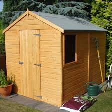 8x6 Wood Storage Shed by 8x6 Durham Apex Shiplap Wooden Shed Departments Diy At B U0026q