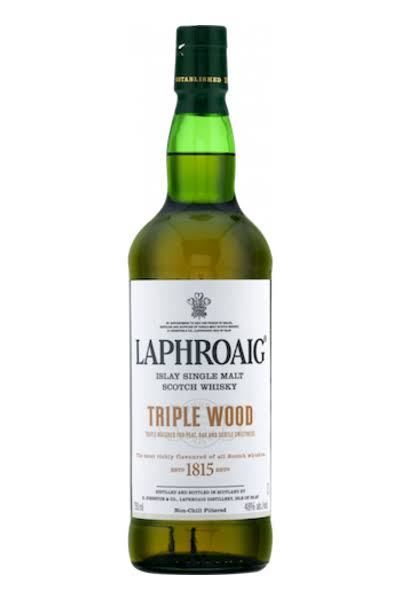 Laphroaig Triple Wood Single Malt Whisky - 750 ml bottle