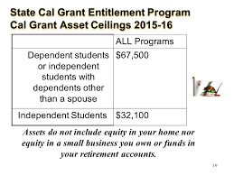 Cal Grant Income Ceiling 2017 18 by Cal Grant B Income Ceiling 100 Images Foothill College