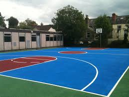 Painting A Basketball Court - Defendbigbird.com Triyae Asphalt Basketball Court In Backyard Various Design 6 Reasons To Install A Synlawn Home Decor Amazing Recreational Lighting Full 4 Poles Fixtures A Custom Half For The True Lakers Snapsports Outdoor Courts Game Millz House Cost Australia Home Decoration Residential Gallery News Good Carolbaldwin Multisport System Photo Diy Stencil Hoops Blog Clipgoo Modern