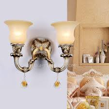 light metal beige shade funky wall sconces features electroplated