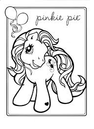 My Little Pony Coloring Page Pie Pages Pinkie And Rainbow Dash Book