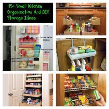 45 Small Kitchen Organization Ideas