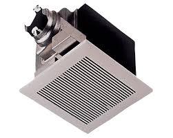 Humidity Sensing Bathroom Fan Wall Mount by Panasonic Whisperceiling 290 Cfm Energy Star Bathroom Fan