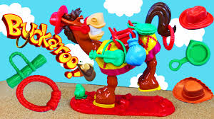 Buckaroo Kids Board Game For Family Night Kicking Mule Toy
