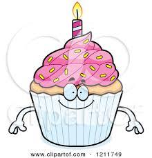 Cupcake clipart happy birthday 1