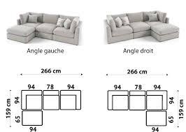 canapé d angle convertible modulable canapé d angle tissu haut de gamme italien vachette vénésetti