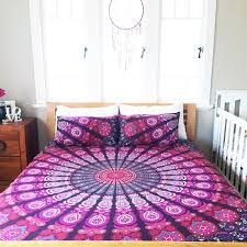 Bedding Duvet Cover King Duvet Cover Ombre Mandala Duvet