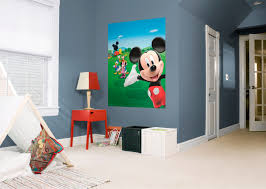 Mickey Mouse Clubhouse Bedroom Set by Mickey Mouse Clubhouse Mural Wall Decal Shop Fathead For Mickey
