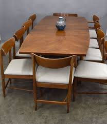 American Of Martinsville Dania Walnut Dining Table SOLD