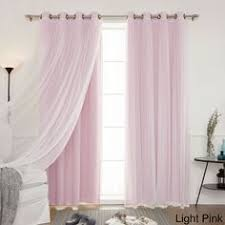Brylane Home Grommet Curtains by Scenario Voile Tab Top Panels Curtains U0026 Drapes Brylanehome