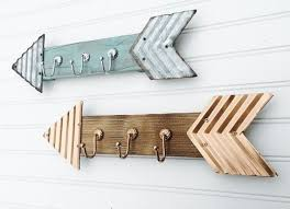 Arrow Hooks Wall Decor Arrows Wooden By PenelopeMayDecor Diy Bathroom