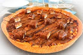 snickers tarte