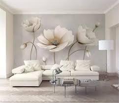 großhandel benutzerdefinierte tapete 3d nordic blume marmor textur wohnzimmer schlafzimmer hintergrund wanddekoration wandbild tapete