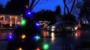 Christmas Tree Lane Alameda 2014 by Christmas Tree Lane Palo Alto Ca Youtube