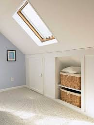Home Projects Under Eave Storage Space