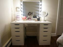 bedroom 39 furniture stunning vanity table with lighted mirror