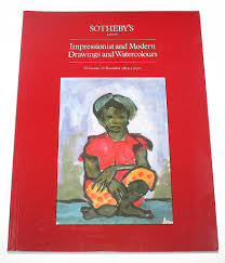 Sothebys Catalogue Impressionist Modern Drawings Watercolours