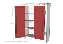 Measure Your Door Openings As Board Widths May Vary And Build Doors Giving An 1 8 Gap On All Sides Of The Attach Backing To