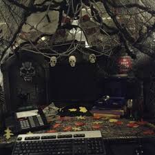 halloween cubicle decorations halloween theme party ideas easy