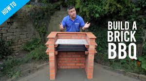 how to build a brick barbecue youtube