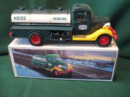 First HESS TOY Truck Bank Made In Hong Kong, New W/box | #1792227059