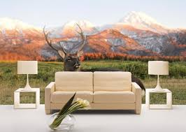 Wall Mural Decals Nature by Photo Wallpaper Deer Animals Nature Wall Mural Bedroom Decor Kids