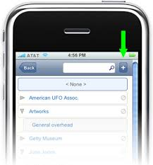 Syncd Adding Classifications in iPhone Mini Mode
