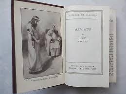 Lew Wallaceben Hura Tale Of The Christhb 1939 B