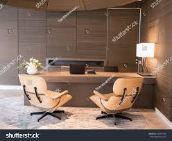 100 Reception Room Chairs Brown Table Two Area Stock Photo Edit Now