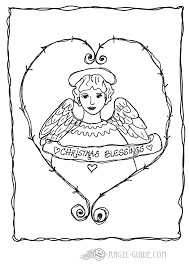 Pin Drawn Christmas Ornaments Angel 6