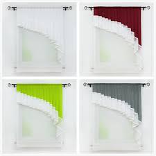 details zu joyswahl scheibengardine bistrogardinen deko gardinen vorhänge wohnzimmer modern