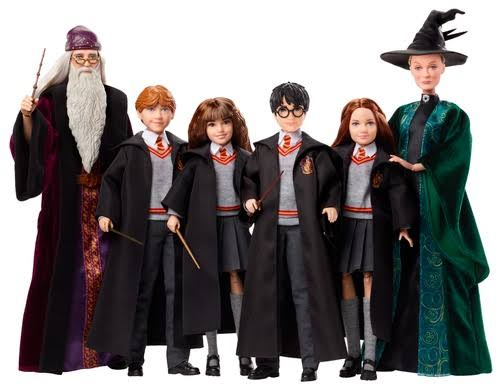 Mattel Harry Potter Fashion Doll Assorted A 1Box 4pcs