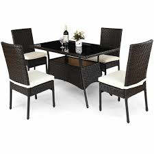 PEARL 5 PIECE DINING SET Damro