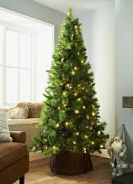 Deluxe Sherwood Pre Lit Christmas Tree 7ft1