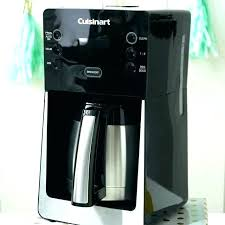Cuisinart Coffee Maker Clean Light Red Color