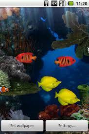 aquarium live wallpaper pour android télécharger