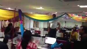 Cubicle Decoration Themes In Office For Diwali by Bay Decoration Competition At Mumbai Office Time Lapse Youtube