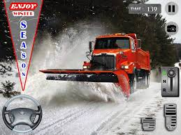 Snow Plow Truck Driver 3D - Android Apps On Google Play