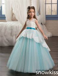 online get cheap white and sky blue lace prom dresses aliexpress