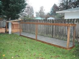 Run Dog Fencing Ideas : Fence Ideas - Exotic Dog Fencing Ideas A Backyard Guide Install Dog How To Build Fence Run Ideas Old Plus Kids With Dogs As Wells Ground Round Designs Small Very Backyard Dog Run Right Off The Porch Or Deck Fun And Stylish For Your I Like The Idea Of Pavers Going Through So Have Within Triyaecom Pea Gravel For Various Design Low Metal Home Gardens Geek To A Attached Doghouse Howtos Diy Fencing Outdoor Decoration Backyards Impressive Curious About Upgrading Side Yard