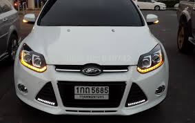 2012 2014 year for ford focus 3 color led lights