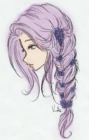 Cool Toon Animated Girl Pic Sketches Best 25 Drawings Of Girls Hair Ideas On Pinterest
