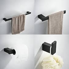 badezimmer handtuchhalter badezimmer zubehör schwarz