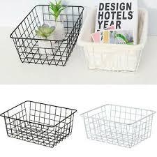 eisen aufbewahrungskorb metalldraht mesh basketry badezimmer