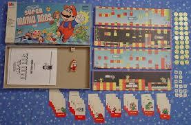 Vintage Nintendo Super Mario Bros Board Game Milton Bradley 1988